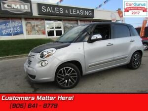 2014 Fiat 500L Lounge  SUNROOF, LEATHER, NAVIGATION, BLUETOOTH