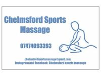 CHELMSFORD SPORTS MASSAGE - deep tissue sports massage
