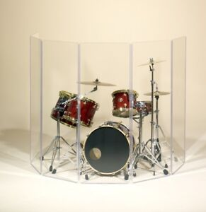 ClearSonic 6-Panel Drum/Instrument Isolation Shield
