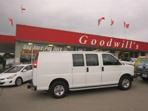 2015 GMC Savana 2500 CARGO! CLEAN CARPROOF!