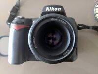 Nikon D90 + 50mm 1.8 D for sale (includes SD card and accessories)