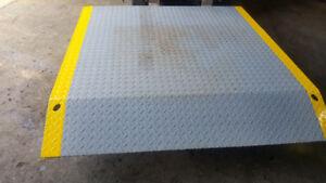 dock board plate plaque de quai chargment de transport Neuf 5x5`
