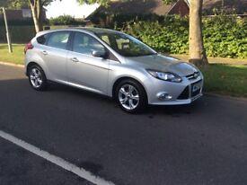 Ford Focus 1.6 tdci zetec £20 tax, LOW MILES