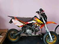 Road legal pitbike z125 £700 or swaps stomp 2013.not a piaggio typhoon or gilera runner or zip