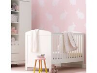 Mothercare Padstow Cot Bed- Porcelain White