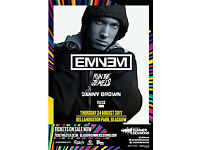 Eminem ticket Glasgow Bellahouston Park