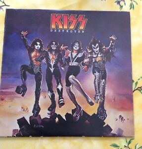 Disque vinyle KISS Destroyer