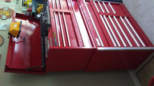 Top box and roll cab tool boxs forsale
