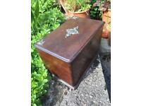 Vintage box lovely antique vintage box dovetail box