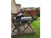 2 roof carriers for bikes, fits onto roof bars