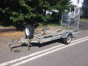 Remorque Karavan 5 x 10 Galvanisé avec rampe