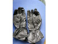 Akita Sportmax Motorcycle Gloves, Used for test, Medium, Leather