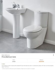 Prima Toilet and Basin BETTER BATHROOMS