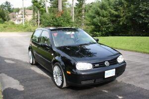 2002 Volkswagen Golf GTI Hatchback USA CAR RUST FREE