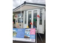 pre owned static caravan holiday home for sale in Husntanton Norfolk - INC 2017 Site fees.