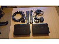 2x cisco scientific atlanta CIS2001 MTR-a Set-top-box