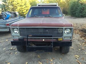 1980 GMC SHORTBOX STEPSIDE 4x4