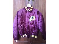 Vintage Chalk Line Washington Redskins Jacket and Hat