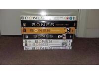 Bones Seasons 1 - 7 on DVD