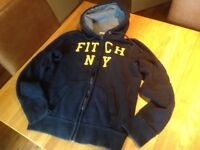 Abercrombie and Fitch Hooded Sweatshirt Size Small