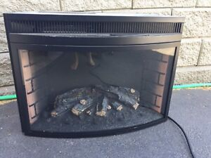 Electric fire place insert