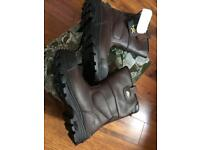 Rock Fall Texas 2 Safety Boots Size 8 brand new
