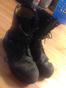 Steel Toe Army Boots