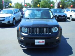 2016 JEEP RENEGADE SPORT- BLUETOOTH, SATELLITE RADIO, U-CONNECT,