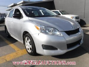 2009 TOYOTA MATRIX BASE 4D HATCHBACK FWD BASE