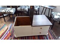 up cycled storage box/ coffee table