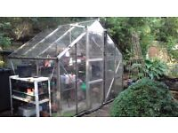 Green house approx 5ft x 7ft