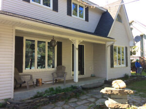 NEW PRICE FURNISHED EXEC. WATERFRONT/ BASE OF SKI HILL