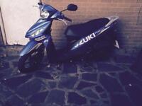 Suzuki address 124cc