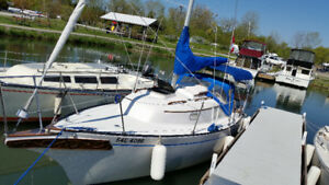 Bayfield 25, pocket cruiser.
