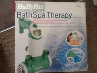 Bath spa Babyliss brand new boxed