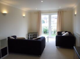 One bedroom ground floor furnished flat in small block available in August