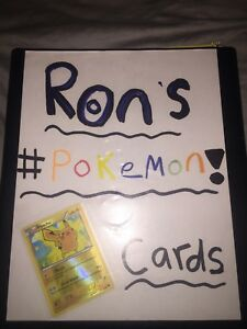 41 pages FULL Of Pokemon cards $40 obo