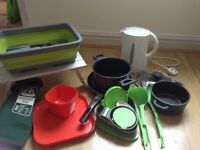 Camping cooking/dining/kitchen equipment