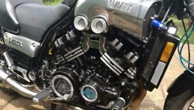YAMAHA VMAX 1200 V4 full power 1999, Canadian carbon grey model