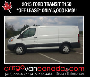 *SMELLS NEW* 2015 Ford Transit T15O CARGO only 5OOOK!