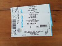 2 Tickets Foy Vance / Amy MacDonald 19.08. Belfast