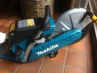 Makita petrol disc cutter brand new condition no marks works fine