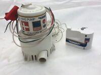 24 Volt Blige pump and float switch