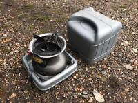 Coleman sportster petrol cooker stove carp fishing
