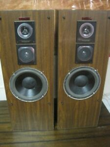 3-Way Mini Tower Speakers - Excellent Bass - $40.00
