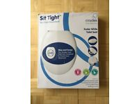 'Sit tight' soft close Foster white toilet seat - brand new