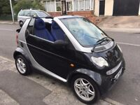 LHD LEFT HAND DRIVE - SMART FORTWOPASSION CABRIOLET CONVERTIBLE - 0.6 cc PETROL