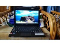 acer aspire one 722 windows 7 300g hard drive 4g memory webcam wifi charger hdmi