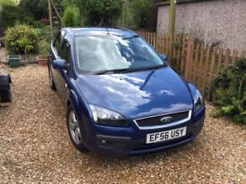 FORD FOCUS 1.8 TD ZETEC. ONE OWNER FROM NEW. 12 MONTHS MOT. FULL SERVICE HISTORY.