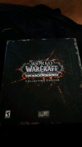 WoW cataclysm collector's edition. (Physical items only)